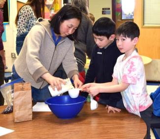 Grow Your Own Healthy Snack Workshop at Hardwick Elementary School