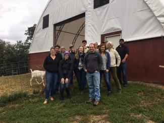 CAE staff in 2019 at Pine Island Community Farm in Colchester, Vermont