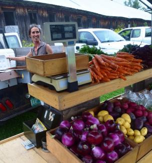 Jen at Market