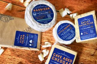 A selection of Jasper Hill Cheese