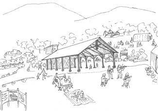 pencil sketch of a future Atkins